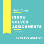 IGNOU BES-142 SOLVED ASSIGNMENT 2020-21 ENGLISH MEDIUM