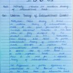 IGNOU IBO-01 HANDWRITTEN SCAN SOLVED ASSIGNMENT
